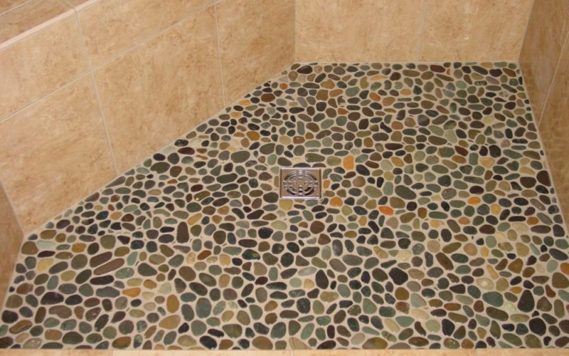 Retiling A Shower Floor Simple Tiling Shower Floor To Ceiling