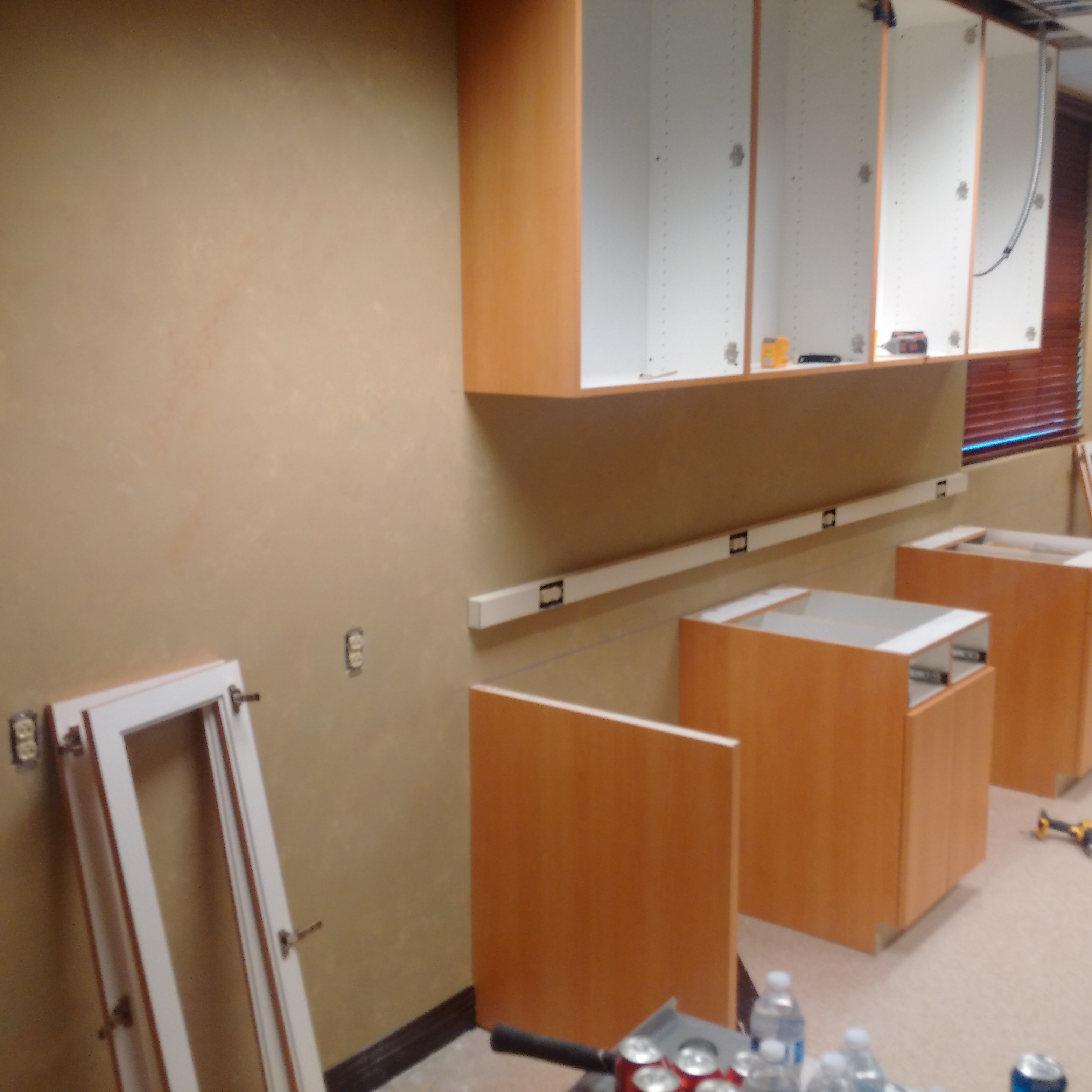 Commercial Project, build custom upper and lower cabinets for Surgical Center Lab