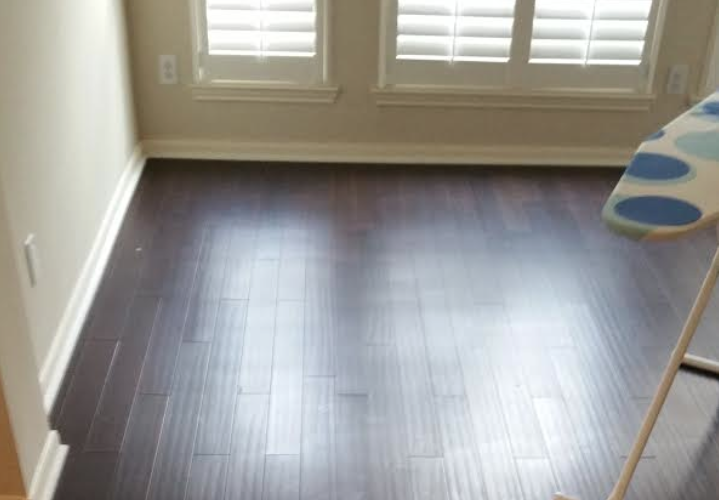 New Bamboo Floor Install